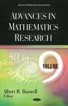 Advances in Mathematics Research