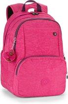 Kipling Hahnee - Laptop Rugzak - Pink Berry C