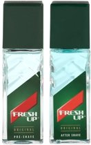 Fresh Up Cadeauset Pre-Shave 100 ml + Aftershave 100 ml