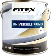 Fitex Universele Primer - Wit - 2,5 liter