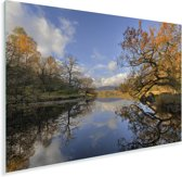 Lake District in het Verenigd Koninkrijk Plexiglas 90x60 cm - Foto print op Glas (Plexiglas wanddecoratie)