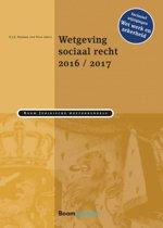 Omslag van 'Boom Juridische wettenbundels - Wetgeving sociaal recht 2016/2017'