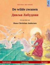 Sefa prentenboeken in twee talen - De wilde zwanen – Дивљи Лабудови (Nederlands – Servisch). Tweetalig kinderboek naar een sprookje van Hans Christian Andersen, vanaf 4-5 jaar