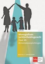 Monografieen (echt)scheidingsrecht 4A - Alimentatieverplichtingen. Editie 2018