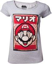 Nintendo - Propaganda Mario Women's T-shirt - S