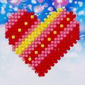 Diamond Dotz ® Patchwork Heart (7,6x7,6 cm) - Diamond Painting