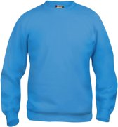 Clique Basic roundneck Turquoise maat L