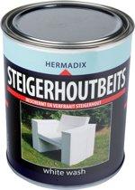 Hermadix Steigerhoutbeits - 0,75 liter - White wash