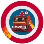 Brandweerman Sam Ontbijtset - 3 delig - Melamine