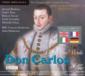 Don Carlos (Five-Act French Versio)