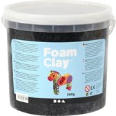Foam Clay, 560 gr, zwart