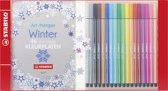 STABILO Pen 68 Promo Pack - 18 Kleuren + Kleurboek