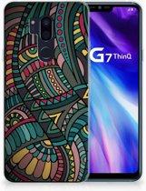 LG G7 Thinq TPU Hoesje Design Aztec