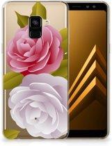 Samsung Galaxy A8 Plus (2018) TPU Case Roses
