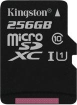 Kingston Technology Canvas Select flashgeheugen 256 GB MicroSDXC Klasse 10 UHS-I