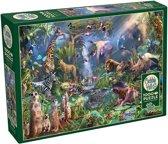 Cobble Hill puzzle 1000 pieces - Into the Jungle