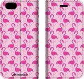 Mobigear Design Mobigear Tropical Design Wallet Bookcase Hoesje 3 iPhone 6 / 6s