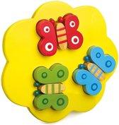 Small foot Houten 3d puzzel dieren set van 3