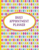 Daily Appointment Planner: Undated Monday-Sunday Hourly Agenda Organizer