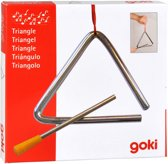 Goki Metalen triangel 10 cm