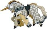 Papo Paard van ridder (zilver)