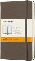 Moleskine Classic Notitieboek Hard cover - Pocket - Lijnen - Bruin