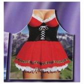 Sexy Apron Schort voor Vrouwen Jurkje Tirol – 100x57x1cm | Kookschort voor Koken en Barbecueën | Grappige Keuken accessoires