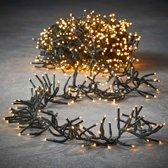 Luca Lighting kerstverlichting lichtsnoer ook voor buiten 576 lampjes warm wit timer met flashfunctie 350 cm luxe