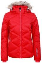 Icepaek - Elsah 17 - wintersport jas - Dames - rood - maat 42