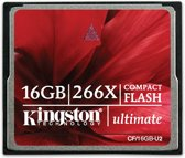 Kingston compact flash kaart 16 GB 266x