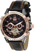 Calvaneo 1583 Calvaneo Astonia 5th Anniversary Creme Rosegold - Horloge - 46 mm - Automatisch uurwerk