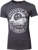 Guinness - Heritage Intaglio Raised Printed Men s T-shirt - S