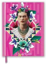 Frida Kahlo Pink (Blank Sketch Book)