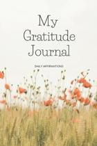My Gratitude Journal Daily Affirmations (Floral)