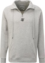 Siksilk sweatshirt siksilk overhead 1/4 zip fade panel top Neonroze-s