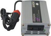 100W Car DC 12V to AC 220V Power Inverter -  zwart