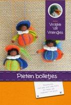 DIY wolvilt pakket: Pieten bolletjes