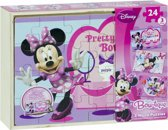 Minnie Mouse 3 houten puzzels