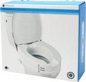 Toiletverhoger met deksel 10 cm