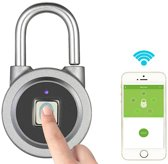 Vingerafdruk Hangslot Android IOS Bluetooth