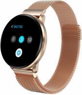 SmartWatch-Trends CF68 - Smartwatch - Goud metaal