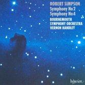 Simpson: Symphonies 2 & 4