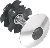 Ergotec Balhoofdplug One Time 1 1/8 Inch Aluminium Zilver