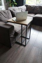 Relax Bijzettafel / Laptoptafel Eikenhout by GDLF