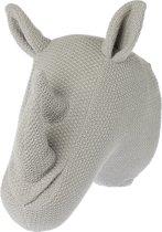 Riverdale - Dierenkop Rhino - 40cm - grijs