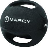Marcy Medicine bal - Met Handgrepen - 3 kg - Zwart