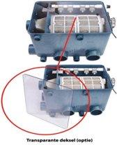AquaForte transparante deksel trommelfilter AFT-1
