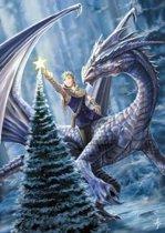 Anne Stokes Kerstkaart Winter Fantasy