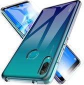MMOBIEL 2 in 1 Beschermset voor Huawei Y7 - Screen Protector en Siliconenhoesje