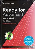 Ready for Advanced 3rd edition + eBook Teacher's Pack